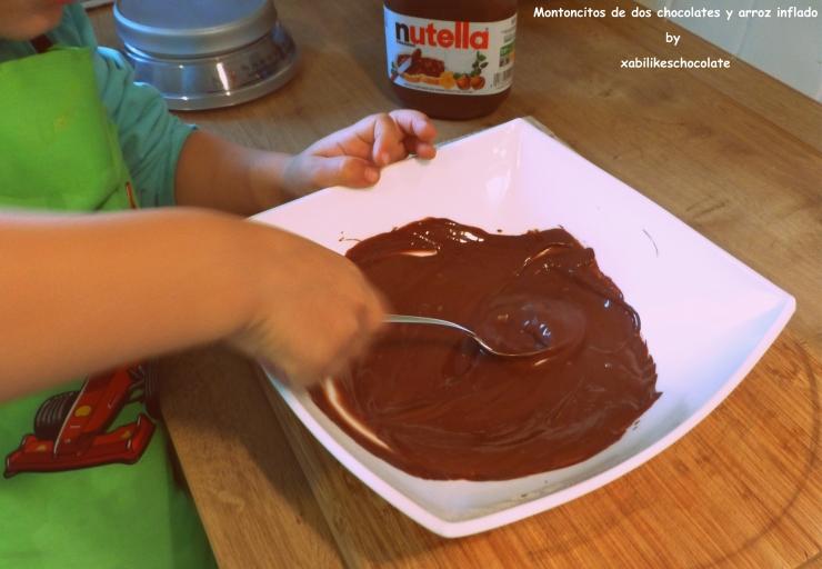 Tortitas de chocolate y arroz inflado, blog reposteria, receTAS PARA HACER CON NIÑOS