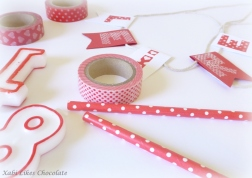 Guirnalda cartulina washi tape