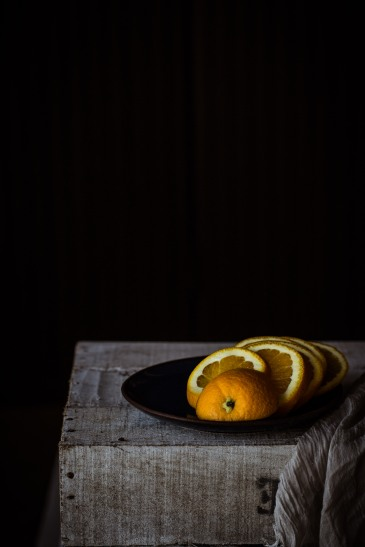 sliced orange