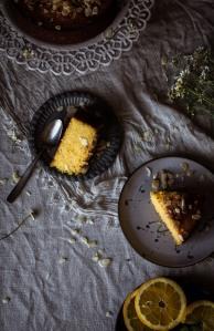 bizcocho de polenta