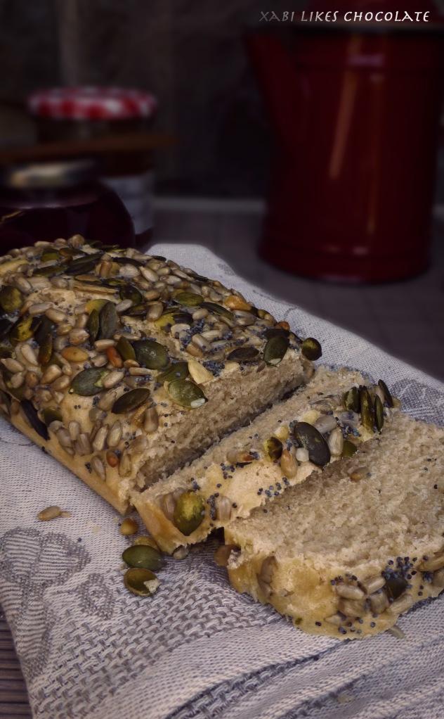Pan para principiantes, blog de reposteria, pan básico, pan de molde, pan de semillas, pan fácil, pan para principiantes, pan blanco, como hacer pan