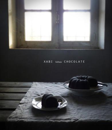 Bizcocho de chocolate y cardamomo