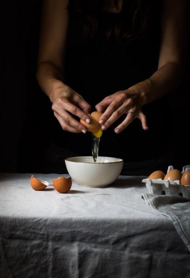 Tortilla de Calabacín, Feta y Albahaca
