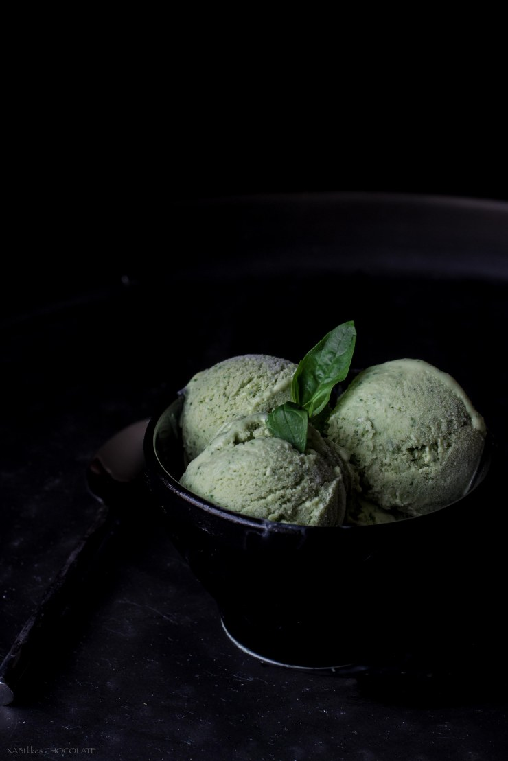 Basil Icecream