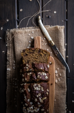 Wholemeal Pumpkin and Chocolate Bread