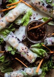 rollitos vietnamitas, spring rolls, how to roll, como enrollar rollitos, cocina vietnamita