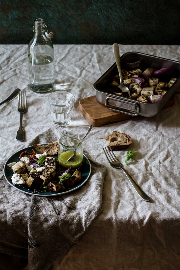 recipe_aubergine, ensalada-berenjena-burrata, ensalada-berenjena, ensalada-lentejas, ensalada-burrata, aubergine-salad, lentil-salad, food-photography, food-photographer, food-stylist, food-photography, recipe