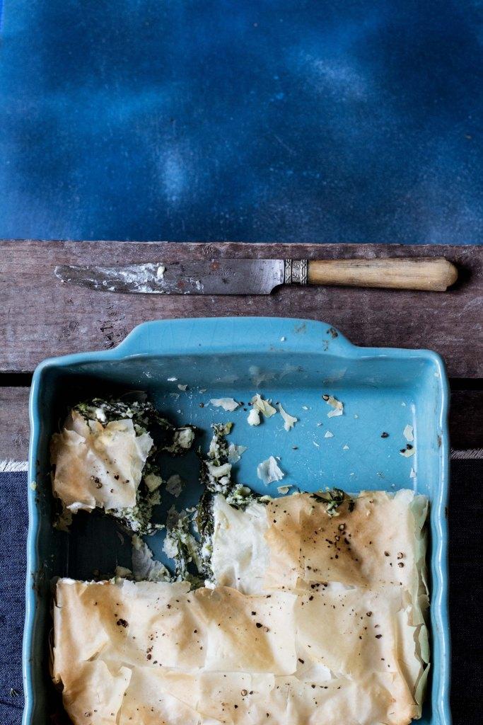 pastel-de-espinacas, spanakopita, recetas-con-espinacas, pastel-de-espinacas-y-queso, fotografía-gastronómica, cocina-vasca, blog-de-recetas, pastel-salado, spinach-filo-pie, spinach-feta-filo-pie, hairy-bikers